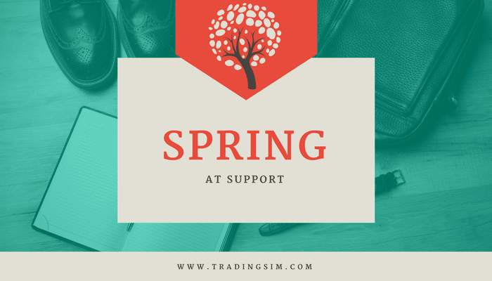 Spring at Support