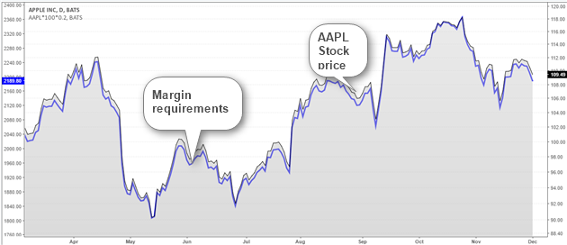 Stock Price and Margin Requirement Changes