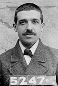 Charles Ponzi (Source - Wikipedia)