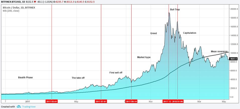 Bitcoin bubble - Anatomy of a stock market bubble