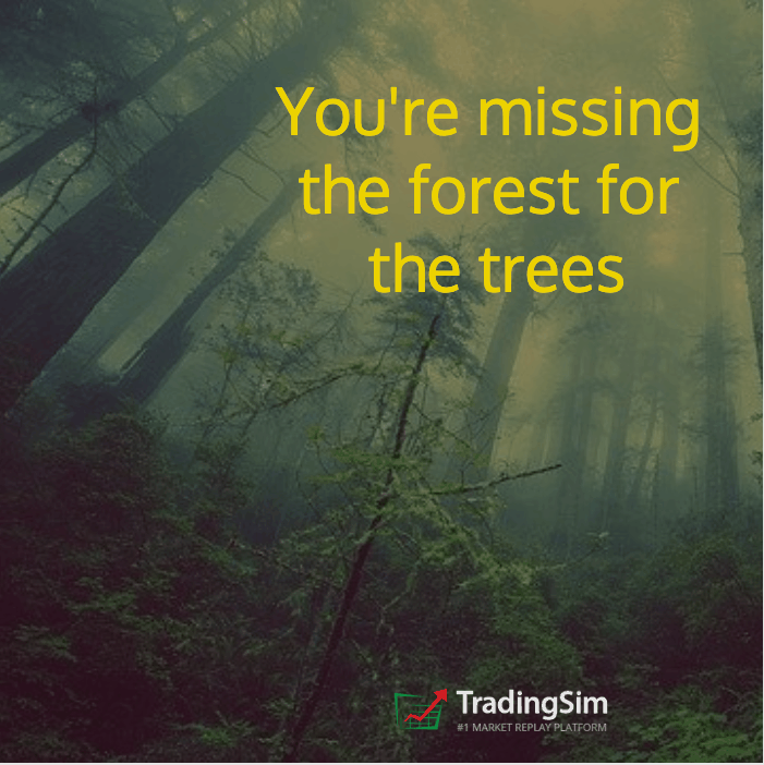 You're missing the forest for the trees.