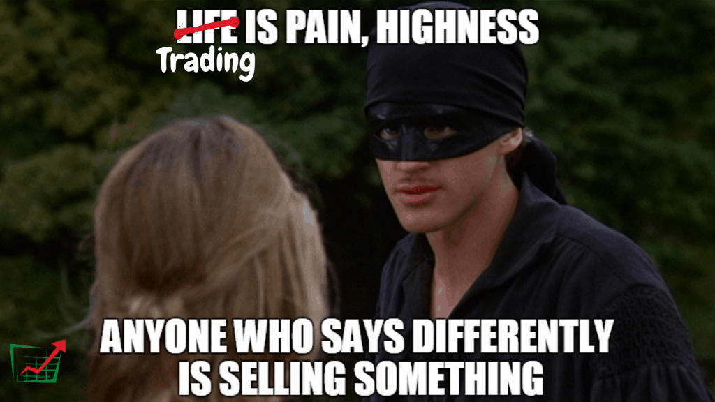 Trading is pain