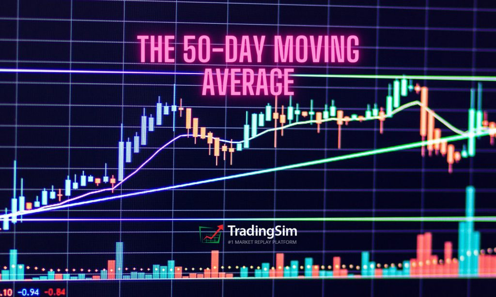 the 50-day moving average banner chart