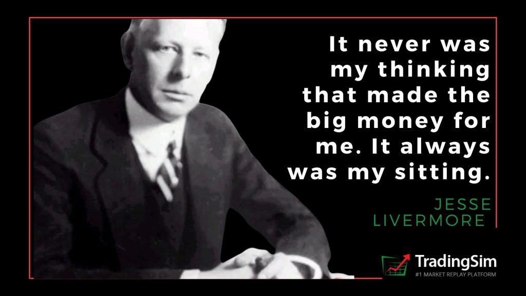 Jesse Livermore quote on trading psychology